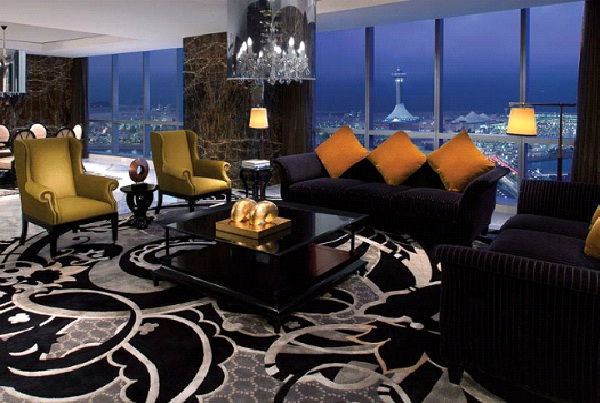 Jumeirah At Etihad Towers - Royal Etihad Suite - Abu Dhabi - $18,000 Per Night-World's Most Expensive Hotel Suites