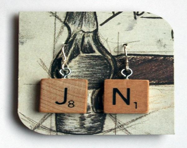 Scrabble-Weirdest Earrings Ever