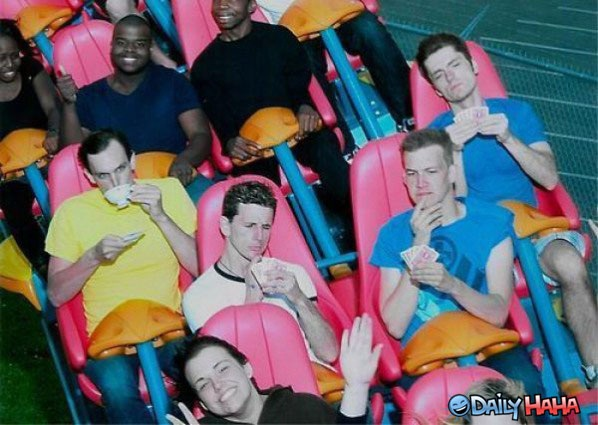 Any One For A Cup Of Tea?-Hilarious Roller Coaster Moments