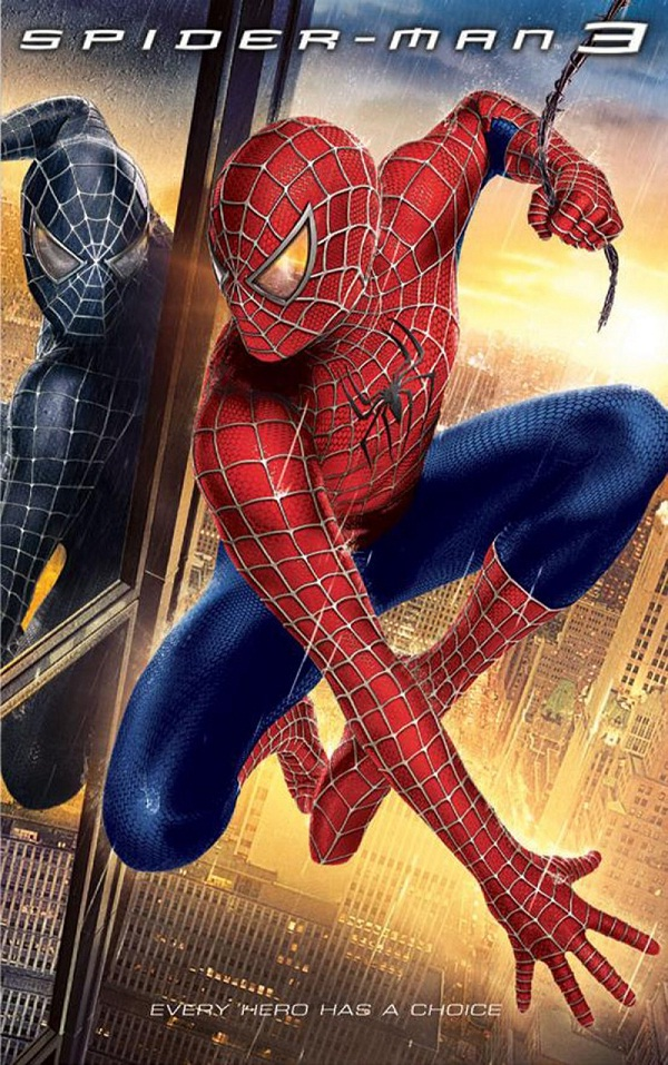 Spiderman 3-Superhero Movies That Disappointed Us