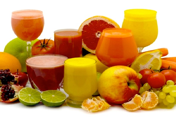 Fruit Juice-Foods That Cause Obesity