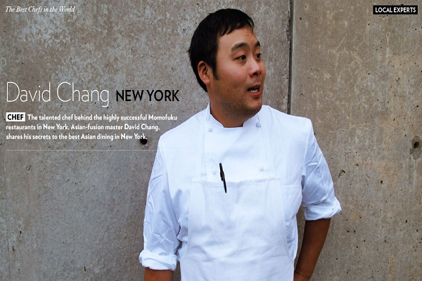 David Chang-Best Chefs In The World