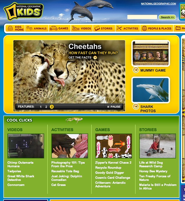 Kids.nationalgeographic.com-Best Educational Websites For Kids