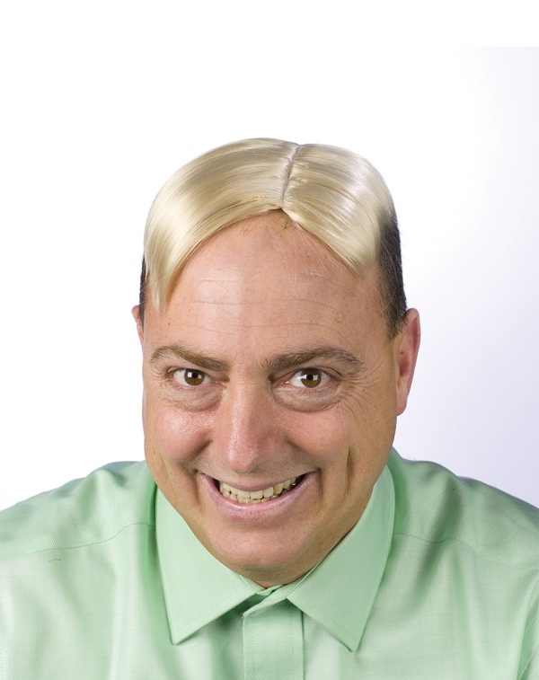 Go for the bad wig-Funniest Solutions For Baldness