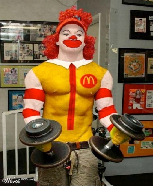 Buff Ronald-Most Inappropriate Ronald McDonalds