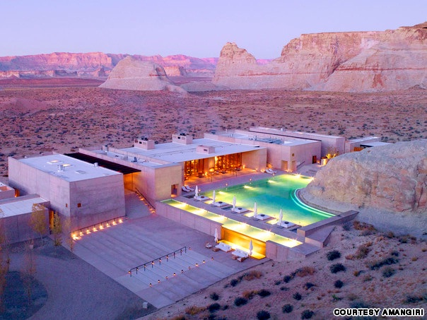 Hotel in the desert-Most Amazing Hotels Around The World