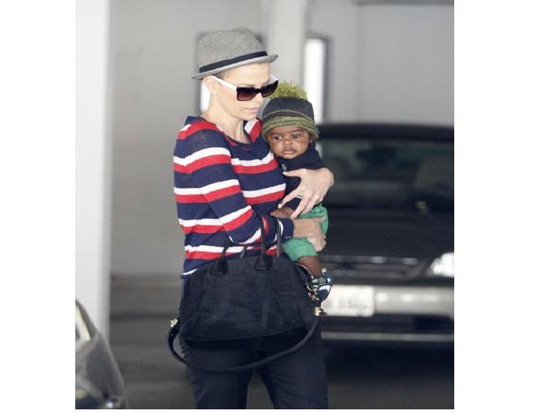 Jackson Theron-Famous Celebrity Babies