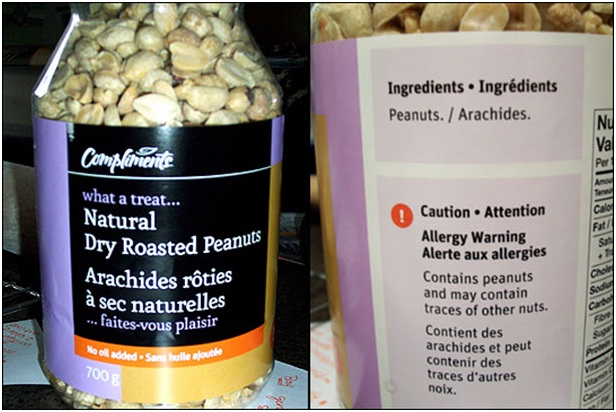 Nuts Contain Nuts-Stupidest Warning Labels