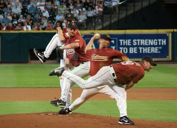 The Pitcher-Crazy Sequential Photography