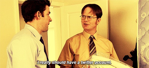 He Showed That Twitter Is Important-Dwight K Schrute Is A Life Coach
