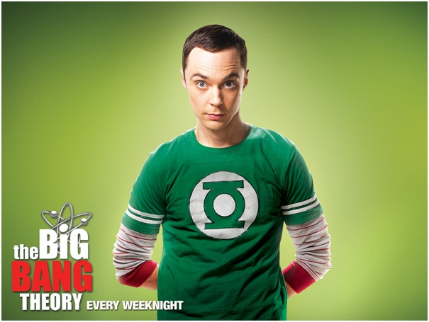 Sheldon's Green Lantern Shirts-15 Things You Didn't Know About The Big Bang Theory