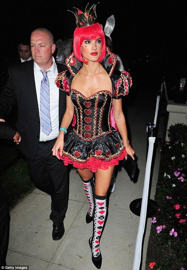 Alessandra Ambrosio-Celebrities In Hot Halloween Costumes