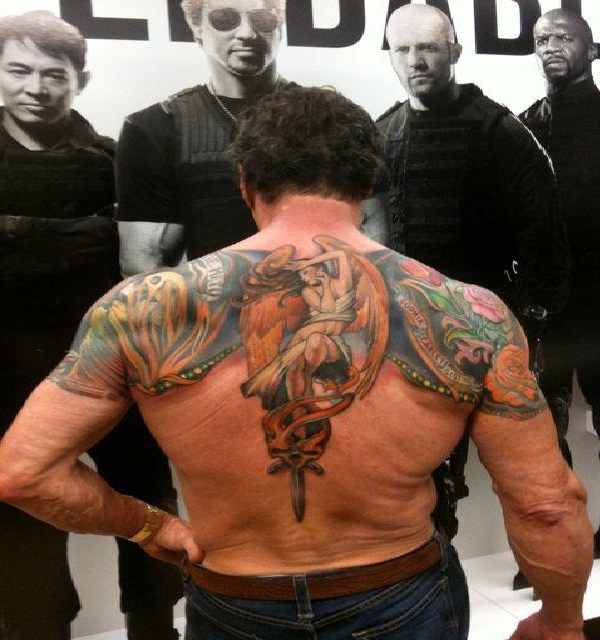 Sylvester Stallone-Best Celebrity Tattoos