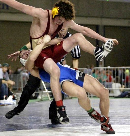 Wrestling-Sports Which Are Boring To Play