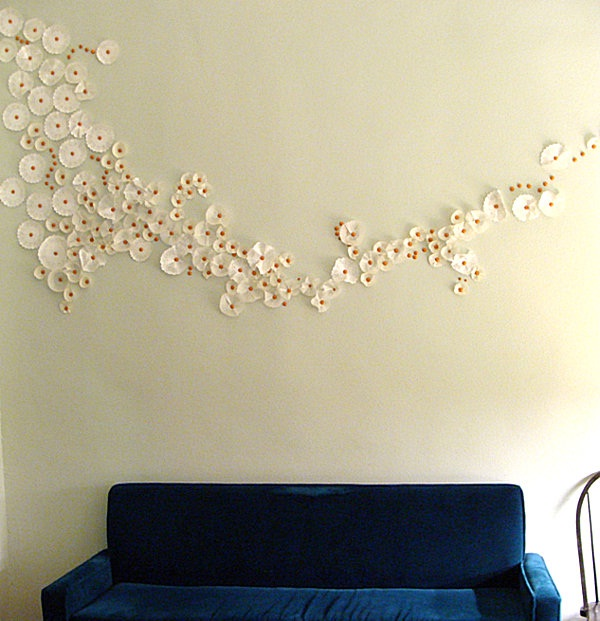 Doilies-Creative DIY Wall Decor