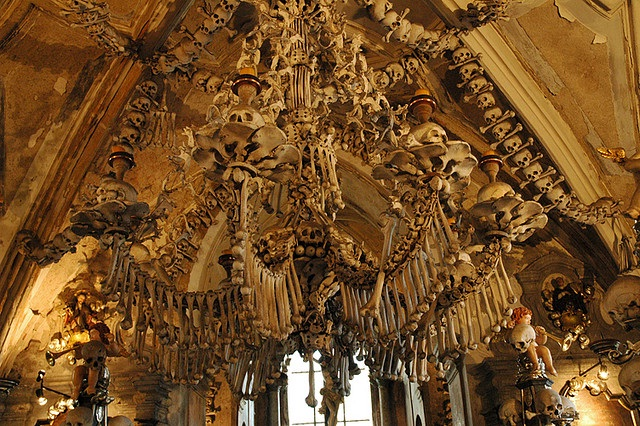 Sedlec Ossuary-The Creepiest Places On Planet Earth