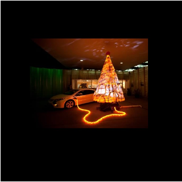 Electric Christmas Tree-Most Amazing Christmas Trees From Around The Globe