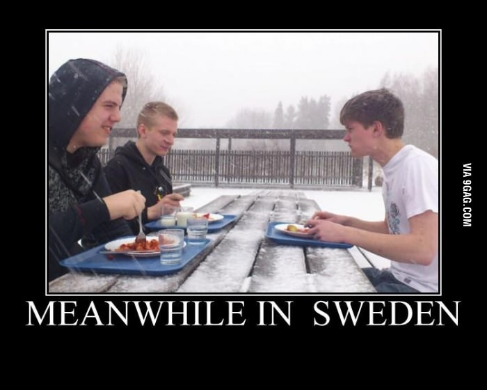 Still Able To Dine Out-Best Meanwhile In Sweden Memes