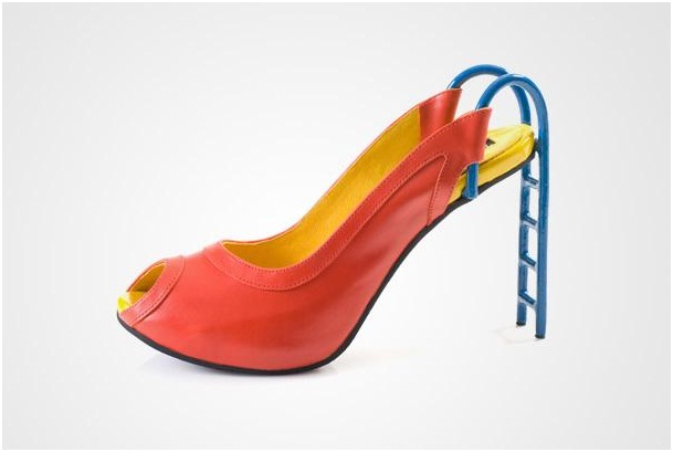 Slide Heels-Crazy Yet Creative High Heel Designs By Kobi Levi
