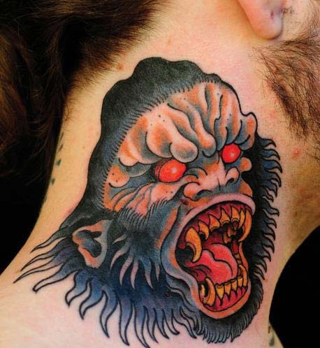 What The....-Insane Neck Tattoos