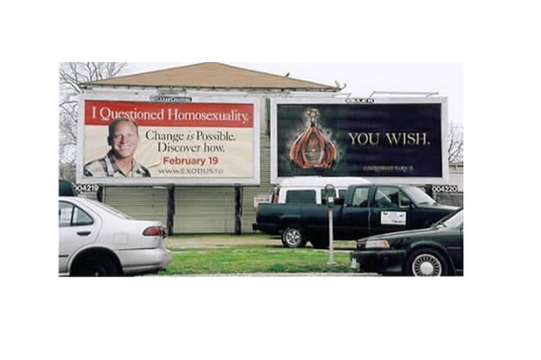 Answering a question?-Unexpectedly Hijacked Billboards