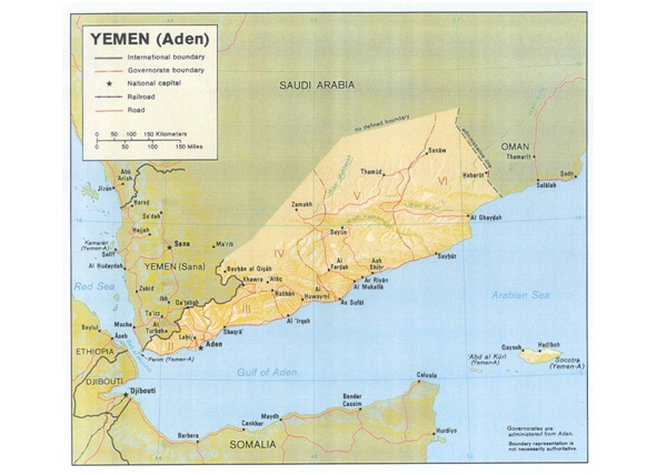 Yemen-Countries Without McDonald's