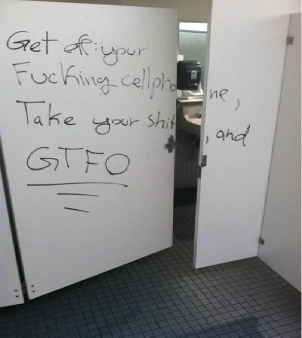 So much anger-Funniest Toilet Graffiti