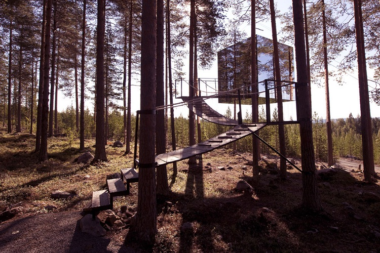 The Mirrorcube, Sweden-Most Amazing Hotels Around The World