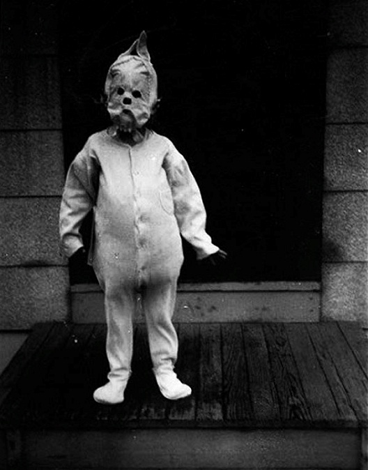 Pajama Man-Most Terrifying Vintage Halloween Costumes Ever