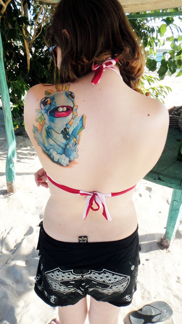 Murloc-Sexiest Video Game Tattoos