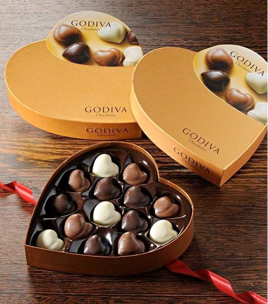 Godiva-Top 12 Chocolate Companies