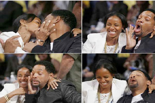 Will Smith/ Jada Pinkett-Most Awkward Celebrity Kisses