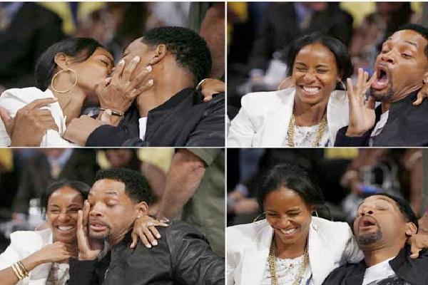 Will Smith/ Jada Pinkett-Most Awkward Celebrity Kisses