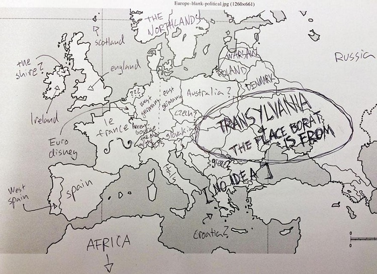 Ahh le france-Europe According To Americans