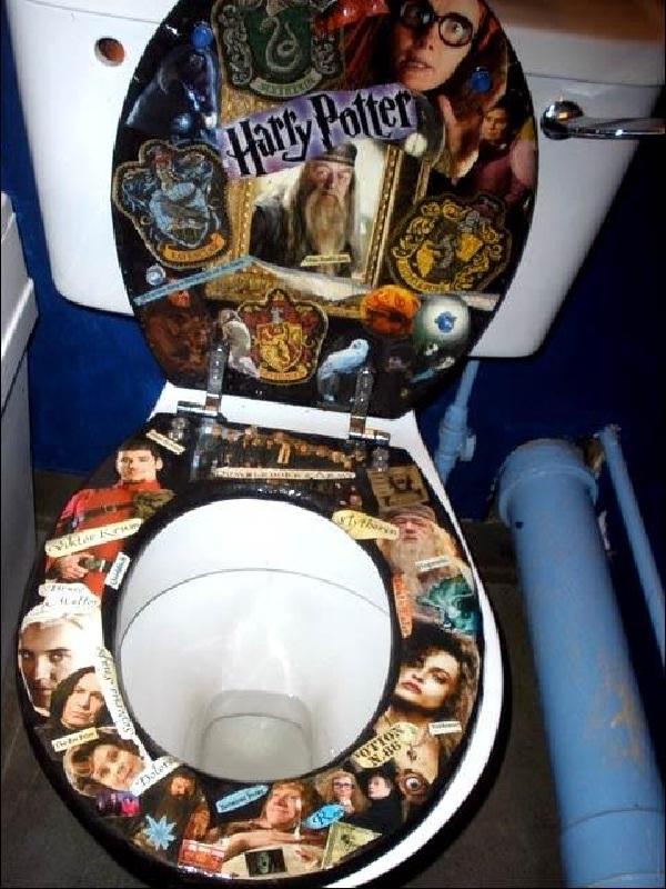 Harry Potty-Amazing Toilet Seats