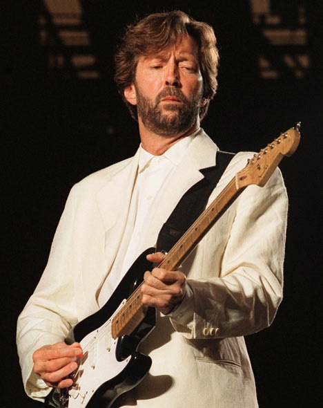 Eric Clapton-Rock Stars Who Were Drug Addicts