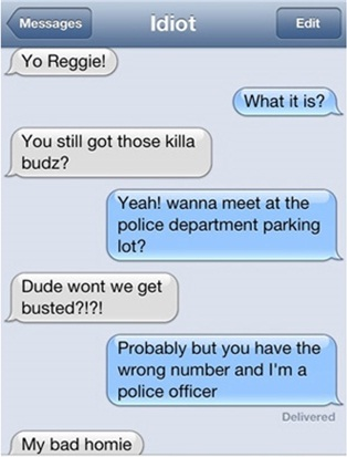 A bad wrong number-Hilarious Wrong Number Replies