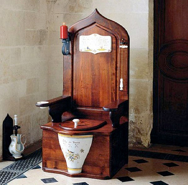 Wooden Toilet Throne-Really Bizarre Things/Services You Didn't Know You Could Buy Online