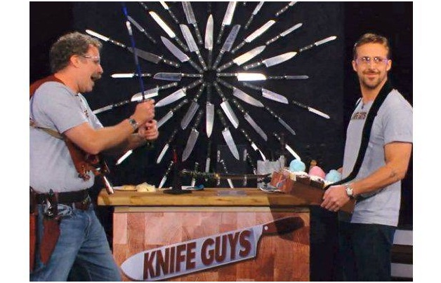 Threw Knives At Classmates-Things You Didn't Know About Ryan Gosling
