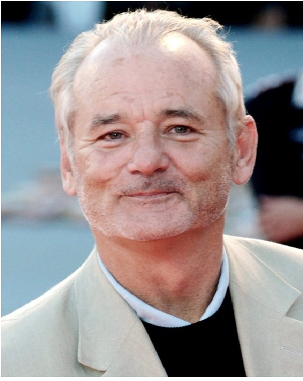 Bill Murray Spiky Chest hair-12 Disgusting Celebrity Habits You Probably Don't Know About