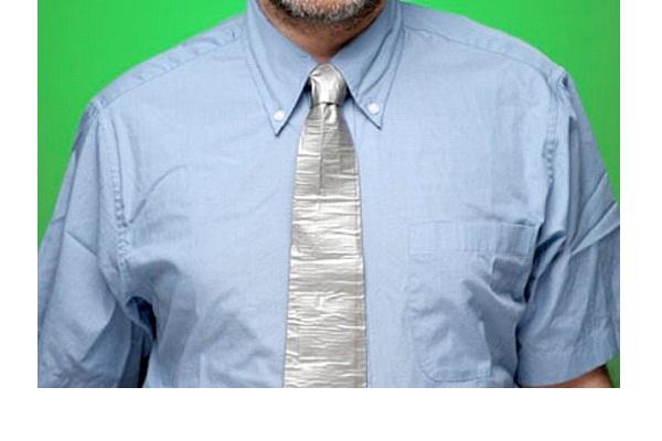 Duct Tape Tie-Strangest Ties