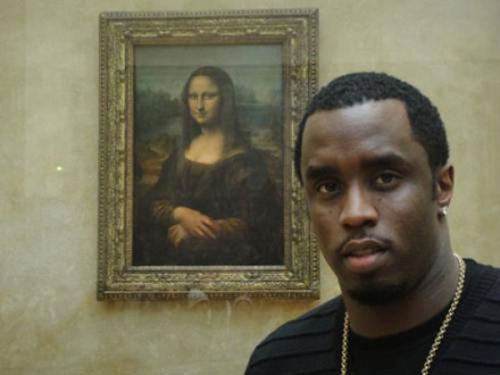 P Diddy-Bizarre Celebrity Selfies