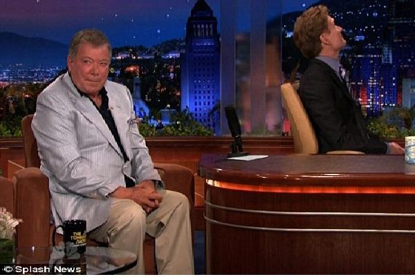 William Shatner-Funniest Conan O'Brien Moments