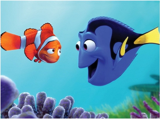 Dory - Finding Nemo-Disney Friendship Quotes