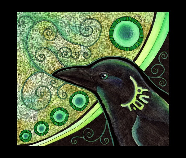Black Crow-Most Sacred Animals In The World