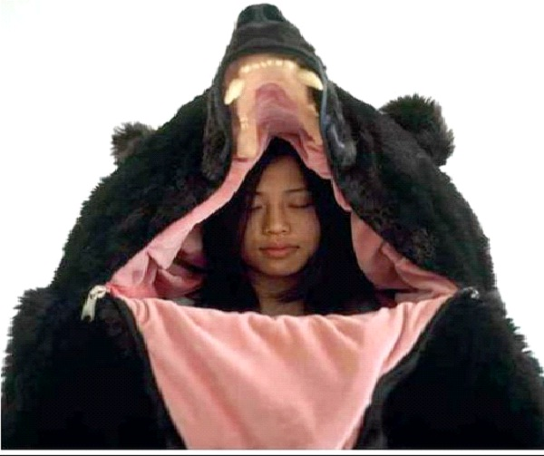 Bear Bag-Weirdest Sleeping Bags