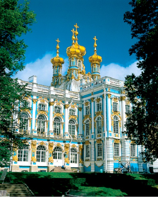 Catherine Palace - St. Petersburg, Russia-Most Beautiful Architectural Structures In The World