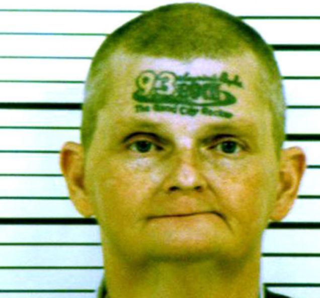 Radio Ad-Bizarre Forehead Tattoos