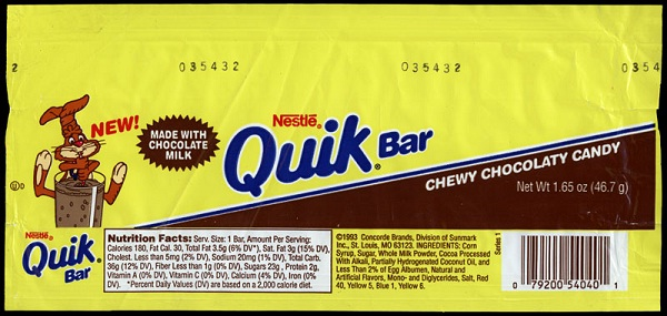 Nestle Quik Bar-Foods And Beverages Which Only 90s Kids Will Remember