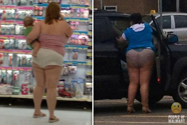 More Butts-Strangest People Of Walmart